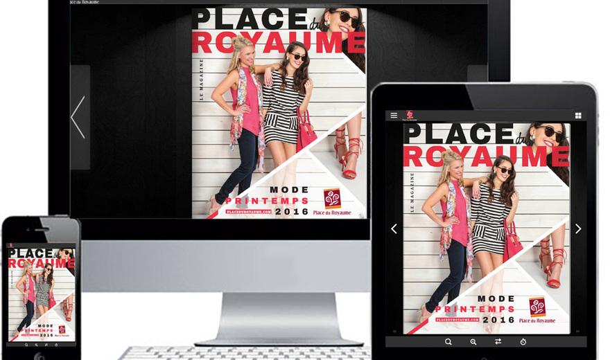 Le magazine interactif de Place du Royaume