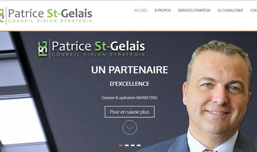 Un site Web pour PSG Conseil Vision Stratégik