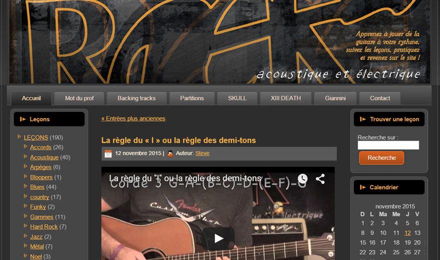L'école du Rock.com
