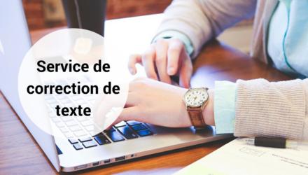 Service de correction de texte partout au Québec