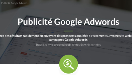 Publicité Google AdWords