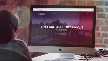 Site transactionel MTL Zipline