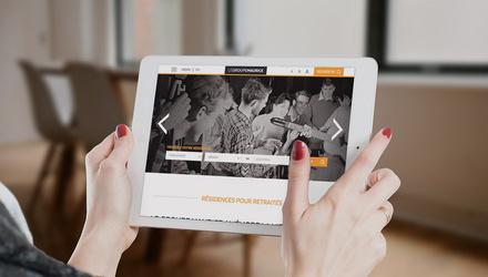 Le Groupe Maurice : refonte adaptative optimisée tablette