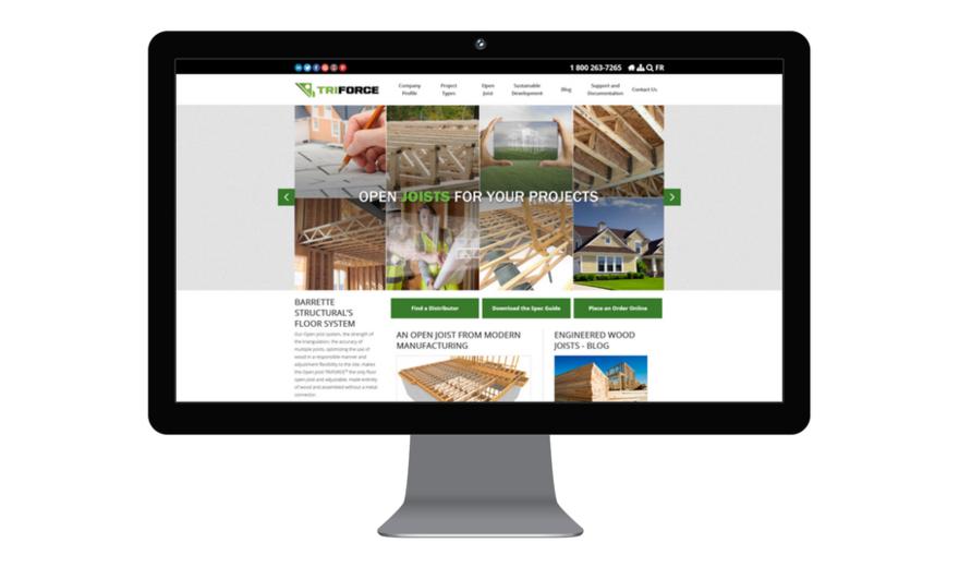 Triforce - Refonte du site web