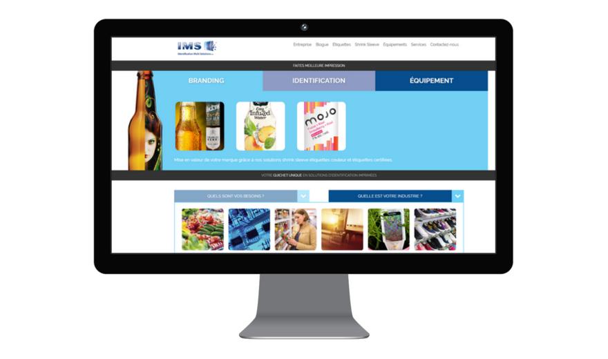 IMS - Refonte du site web