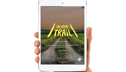 Développement du site web du Sentier Trans Canadien
