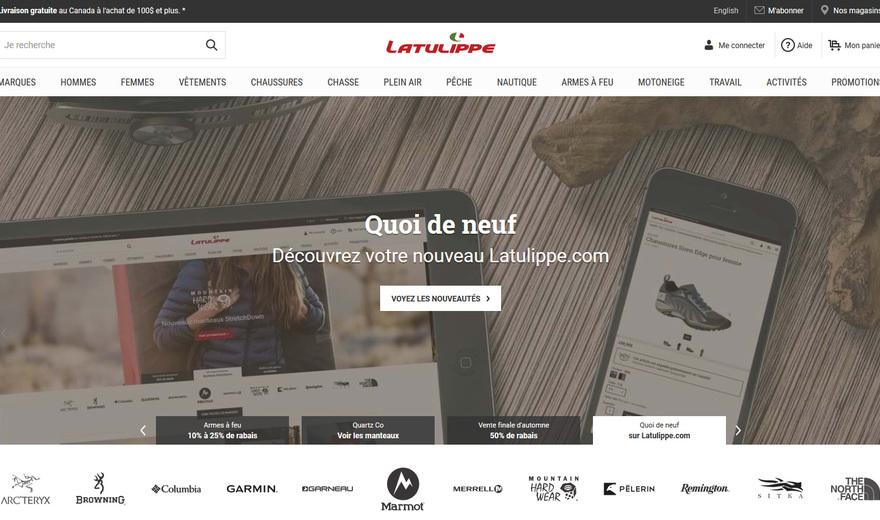 Magasin Latulippe | Site transactionnel | Synchro de données