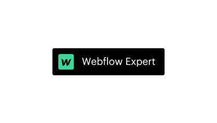 Nous sommes les seuls Experts Webflow reconnu au Québec