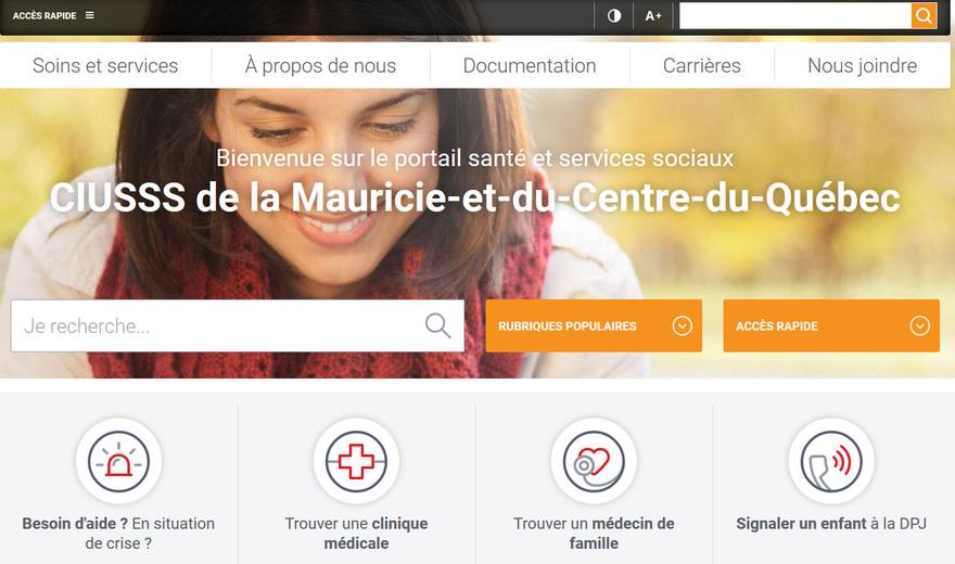 CIUSSS MCQ | Portail Web | Alertes courriels personnalisées