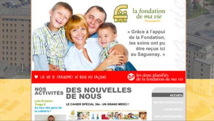 Fondation de ma vie Chicoutimi