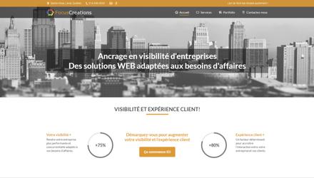 FocusCreations - Concept en architecture WEB