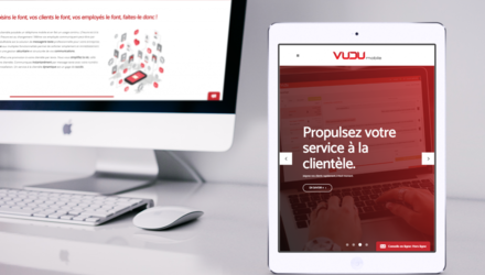 Site web Wordpress VuduMobile
