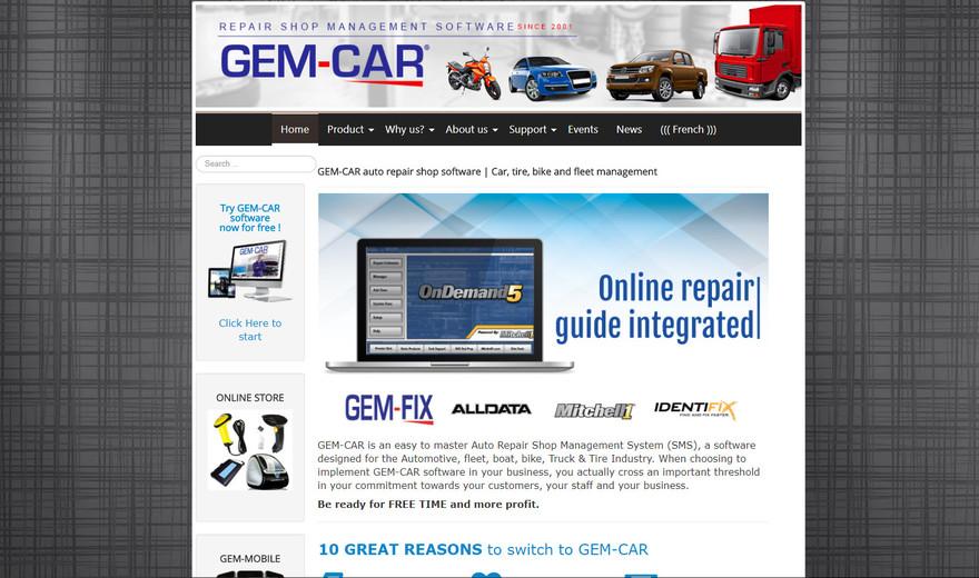 Coach web pour le Logiciel GEM-CAR