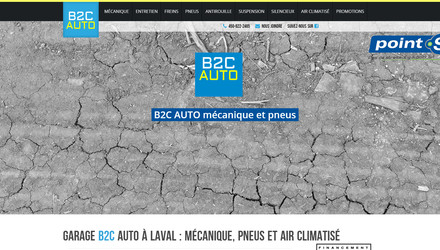 Site web pour garage automobile