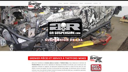Site web pour spécialiste automobile