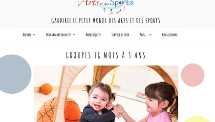 Garderie Le Petite Monde des Arts et des Sports