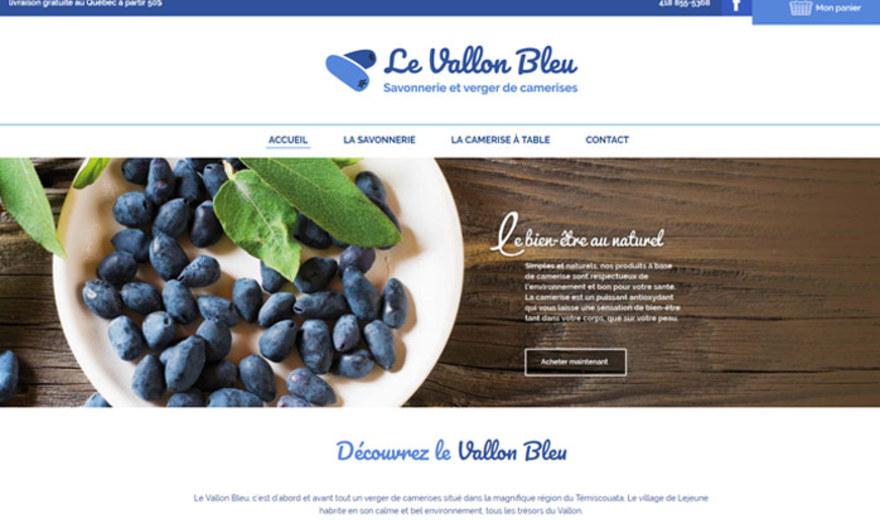 Boutique en ligne le Vallon Bleu