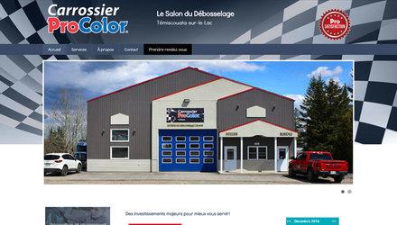 Site web carossier Procolor
