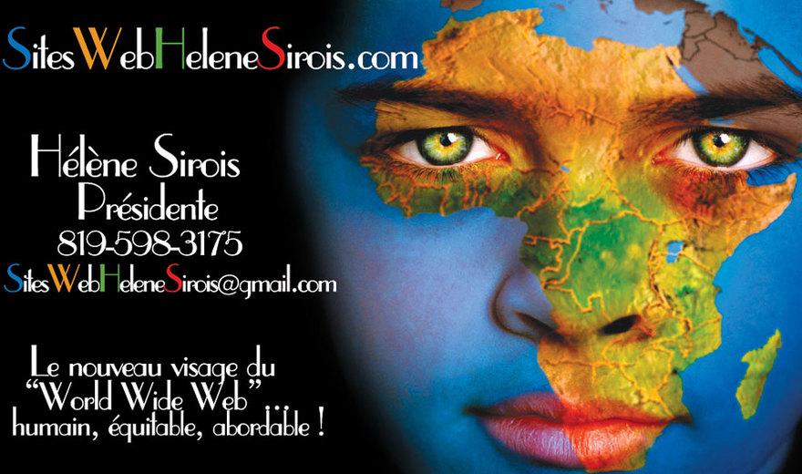 Sites Web Helene Sirois - Portefolio