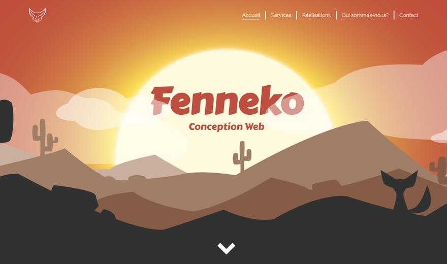 Site web Fenneko