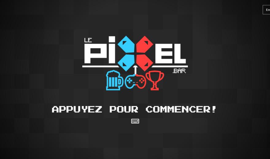 Le Pixel bar