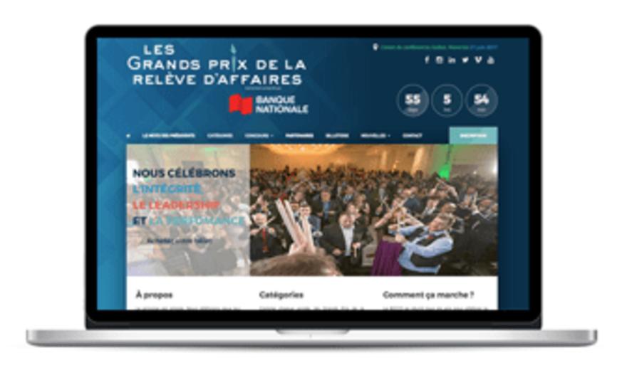 """GALA """"LES GRANDS PRIX DE LA RELÈVE D'AFFAIRES"""""""