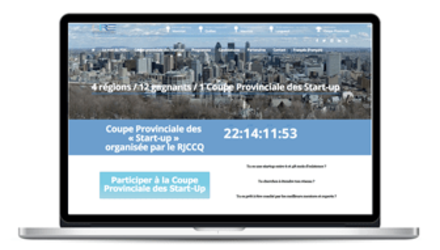COUPE PROVINCIALE  DES « START-UP »