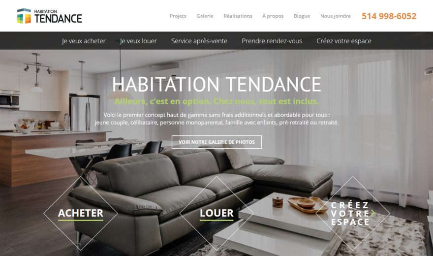 Habitations Tendance