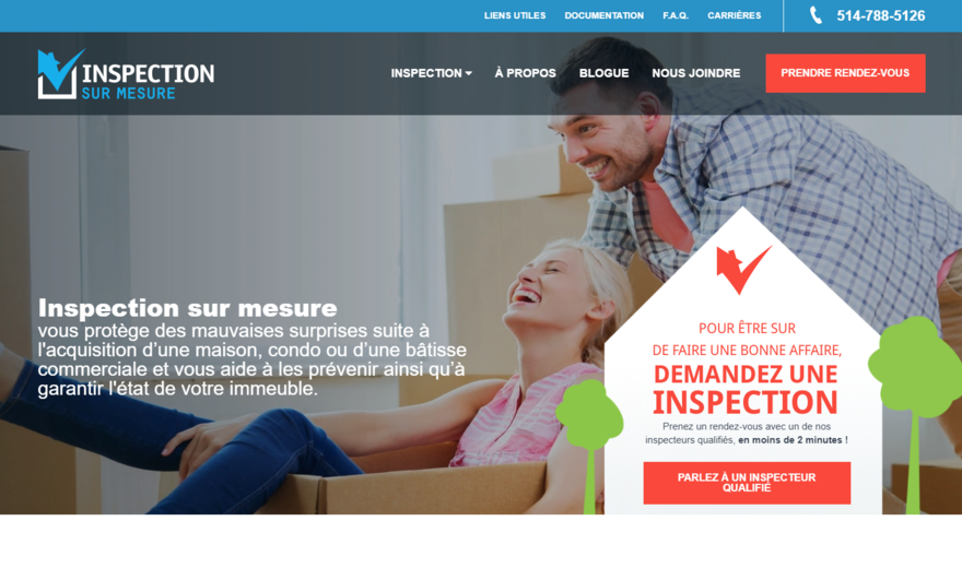 Inspection sur Mesure