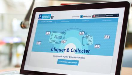 Cliquez et collectez, une solution d'affaires électronique
