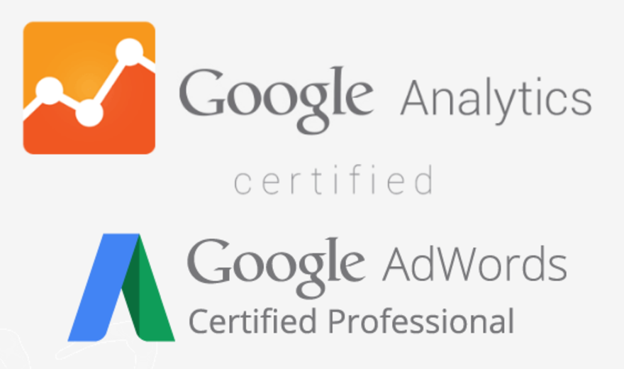 Certifications Google AdWords & Analytics