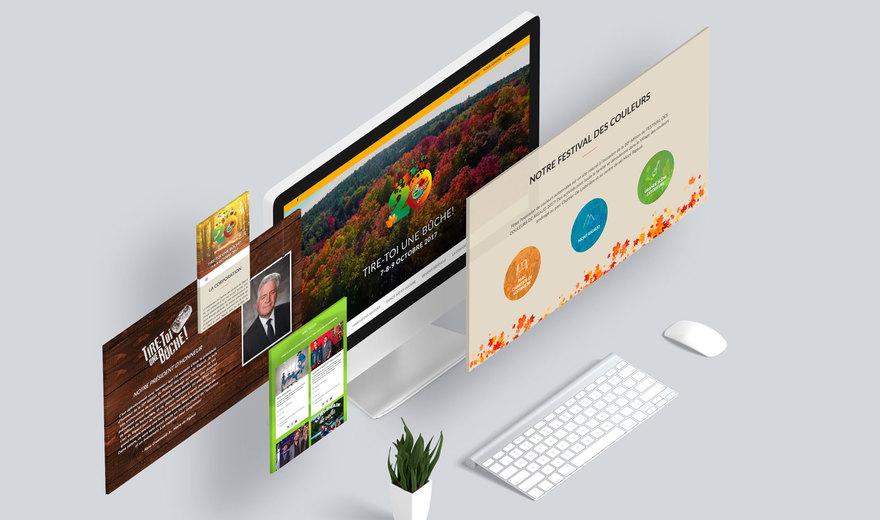 Site web Festival des Couleurs à Rigaud