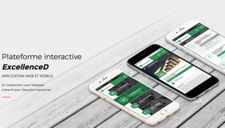 Excellence D - Application Web et mobile