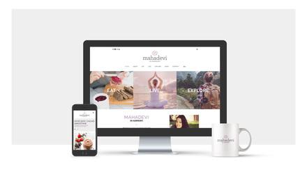 Création site internet de Mahadevi