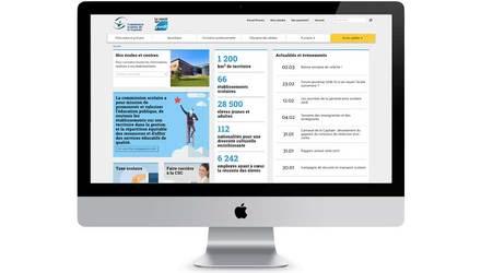 Site Internet commission scolaire de Québec