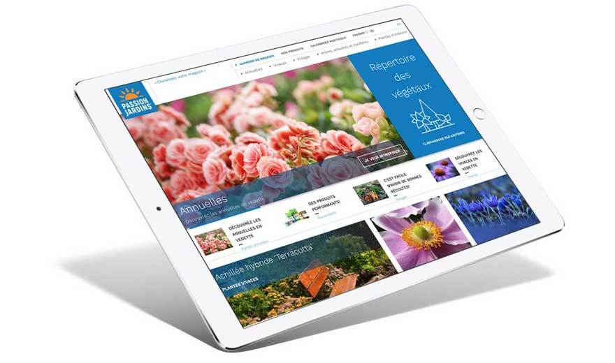 Site web Passion jardin