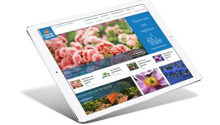 Site web Passion jardin