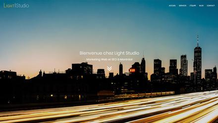 Site Web Light Studio