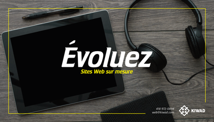 Sites Web sur mesure