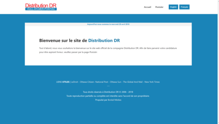 Refonte totale du site web (Mobile-Friendly)