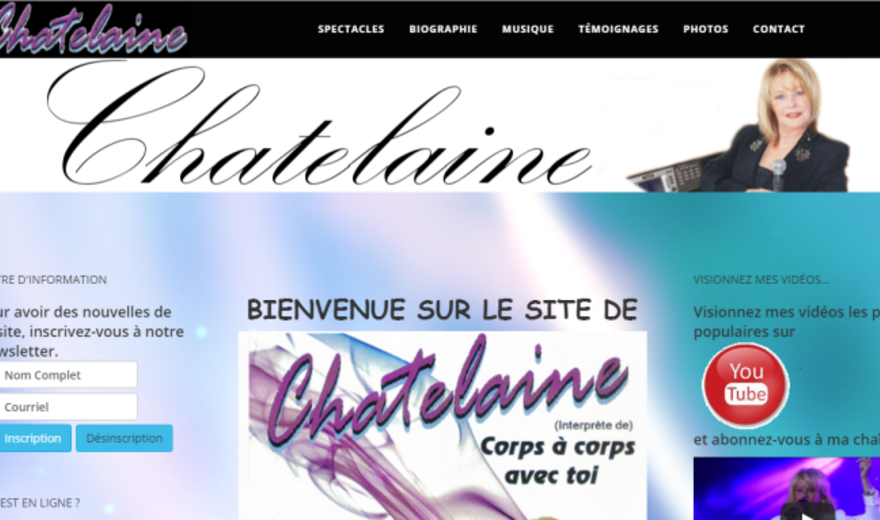 Chanteuse Chatelaine