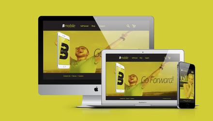 B Mobile Website