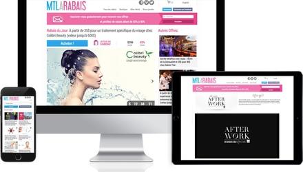 Création du site web de Montréal à Rabais