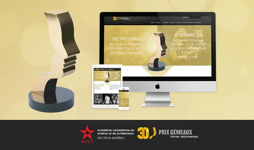 Prix Gémeaux - Académie canadienne du cinéma et de la télévision