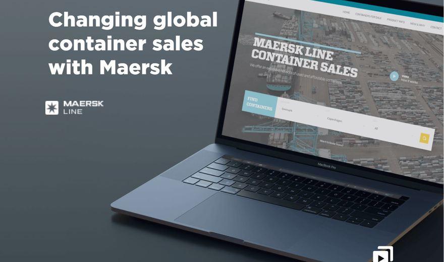 Digital platform for Maersk Line