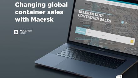 Digital platform for Maersk Line
