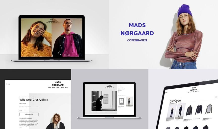 E-commerce for Mads Nørgaard