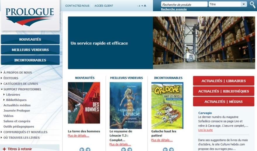 Site Internet de Prologue