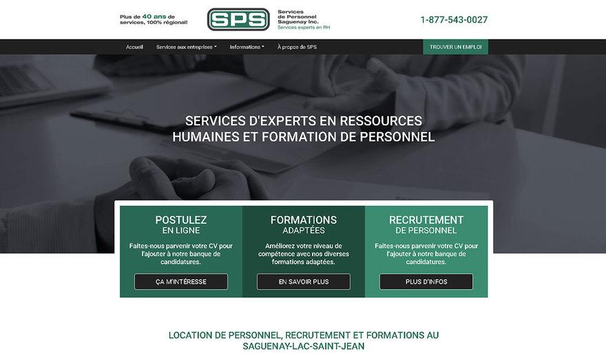 Services de Personnel Saguenay (SPS)