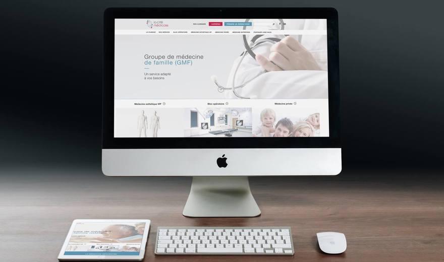 La cité médicale, site web